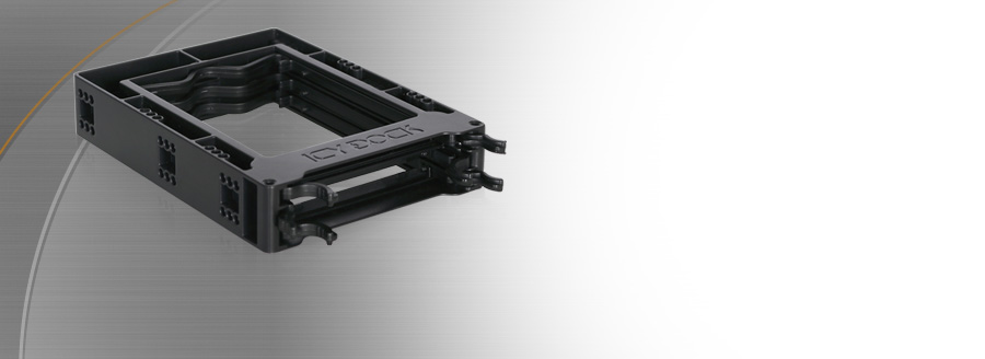 "EZ-FIT Trio - Triple 2.5"" SSD / HDD Bracket"